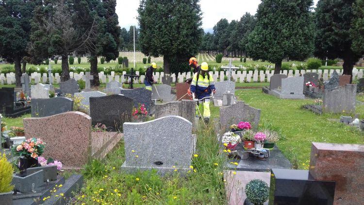 """""""Nettoyage  au cimetière de l'Est"""""""